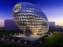 Новым детищем Компании James Law Cybertecture Internation стало здание-яйцо.